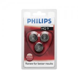 HQ9BLI Cabezales de afeitado PHILIPS Para los modelos SmartTouch-XL y Speed-XL blister 3 conjuntos cortantes  HQ9