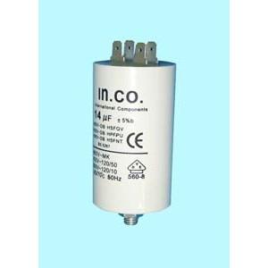 12AG008 CPM14MF Condensador arranque 14MF -450V