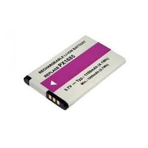 BAT928 PX1685 BATERIA LITIO 3.7V -1100MAH 53,80x33,95x5,60mm  compatible con videocamara Toshiba Camileo
