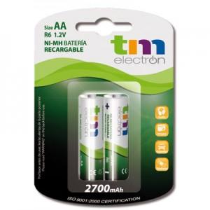 TMVH-AA2700H ver tambien BAT273 BATERIA AA-2700MH BLISTER 2 RECARGABLE