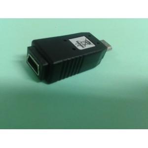 65063 ADAPTADOR MICRO USB MACHO A MINI USB HEMBRA