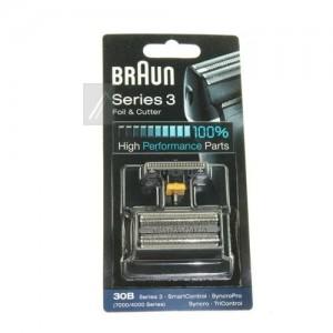 49QY830B Braun 30B - Recambio para afeitadora eléctrica (dos piezas, cuchilla y lamina )