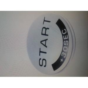 SS186024 BOTON GRIS /START MICROONDAS MOULINEX AFM442