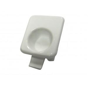 41TK0026 Soporte visera blanco campana extractora Teka