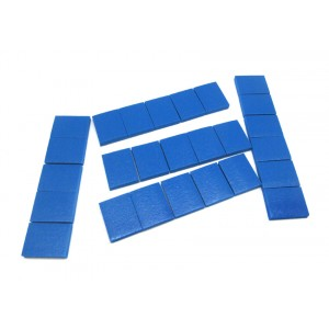 IEK0230 Kit reparacion pantallas AUO 42W0X1, 42W0X1, T420H W02, T420HW04, LG 42LH3000, 42LG3000. Incluye 26 almohadillas adhesiv