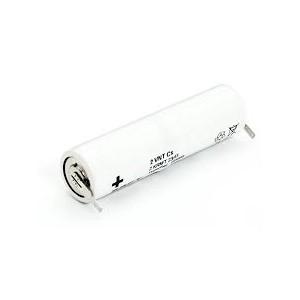 BAT094 Pack baterias Nicd 2.4v -1600mah Tamaño: 22,5x85,0mm con terminales para soldar