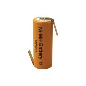 HHR200A Bateria Nimh 1.2v 2000  mah con lengueta soldar. Medidas 43 x 17mm . Compatible con Oral B Braun 3738 y otros.