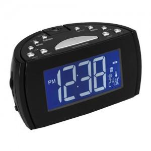CRP514 RADIO RELOJ FUNCION PROYECCION 180º ALARMA DUAL DESPERTADOR DENVER