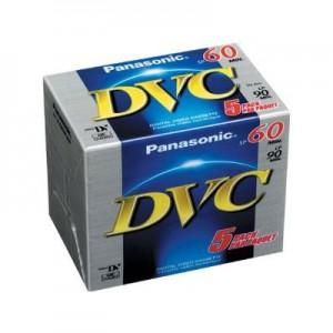 MINIDV60PAN CINTA MINIDV PANASONIC para camara de video digital