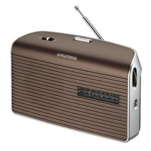 MUSICBOY60BR RADIO PORTATIL AM / FM A RED O PILAS GRUNDIG