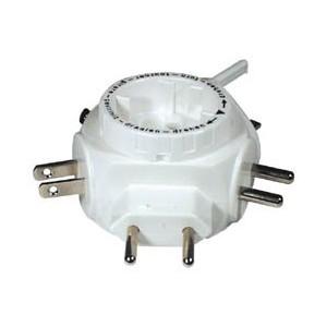E-NC6 Adaptador voltaje viaje 5 clavijas ( Europa, Reino Unido, America, Australia, Canada, Sudamerica, Asia)