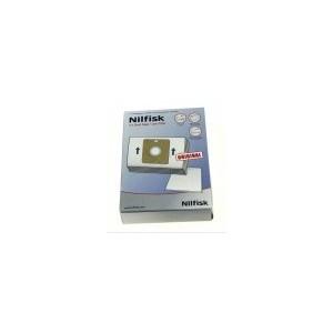 78602600 BOLSAS ORIGINALES NILFISK C218 , COUPE NEO Y OTROS. INCLUYE 5 BOLSAS Y  MICROFILTRO