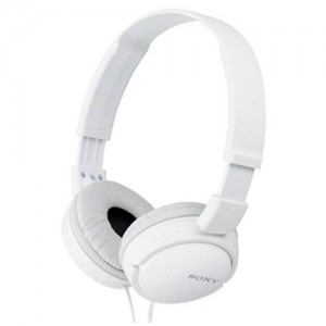 MDRZX110W Auriculares de diadema para exteriores color blanco Sony