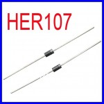HER107 DIODO 30A (1A/800V )COMPATIBLE A FR107