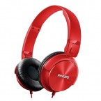 SHL3060RD AURICULAR PHILIPS TIPO DJ COLOR ROJO