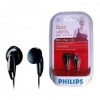 SHE1360 AURICULAR BOTON PHILIPS COLOR NEGRO