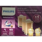 GC004/00 PACK 4 FILTRO CARTUCHO ANTICAL PLANCHA PHILIPS GC7635 - GC7620 serie GC7600 Perfect Care