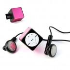 TX52P Mini Reproductor Style MP3 TX-52 color Rosa de Technaxx.con ranura de microsd