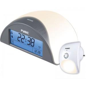 HOG032 Reloj despertador con detector de presencia remoto. Recomendado para vigilancia de personas mayores y enfermos. Fysic