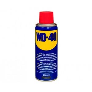 WD40 spray lubricante 200 ml , mas de 2000 usos diferentes. Protege de la humedad, el oxido y la corrosion.
