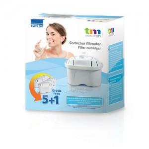 TMFIL006 Filtros Jarra Purificadora agua compatibles con Maxtra 5+1