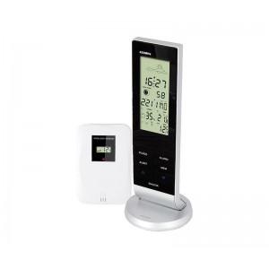 HOG004 Estacion meteorologica digital con despertador y sensor exterior. A pilas