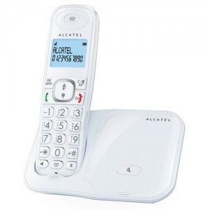 VERSATISXL280W TELEFONO INALAMBRICO ALCATEL MANOS LIBRES TECLAS GRANDES COLOR BLANCO XL280