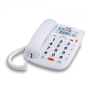 ALCATELTMAX20 Telefono fijo Alcatel con pantalla y teclas grandes