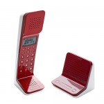 TELEFONO INALAMBRICO CON BASE PUSH TO TALK