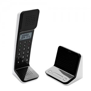 L7BLK Telefono inalambrico con base Push to Talk