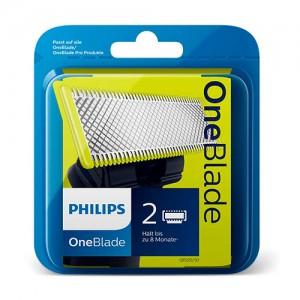 QP220/55 PACK 2 UNIDADES CUCHILLAS ONE BLADE  Y ONEBLADE PRO QP2520 QP6520 QP2530 compatible a qp210