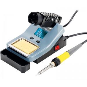 HRV7536 Estacion de soldadura digital 60w , ajustable de 160 a 480 º C Resistencia ceramica 30w 7536