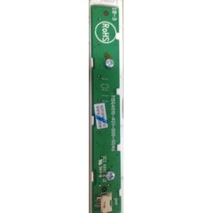 715G4010K01 715g4010-k01-000-004u Teclado tv Sharp LC22le320e. Repuesto recuperado, usado, en perfecto estado