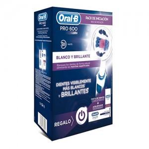 Cepillo dental recargable Oral B Professional 3 D Braun. Cabezal blanqueador