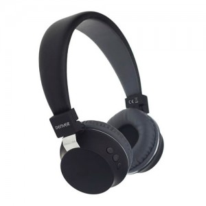 Auricular bluetooth inalambrico color negro Denver