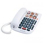 TELEFONO SOBREMESA CON TECLAS GRANDE Y FOTOS DIRECTAS ALCATEL