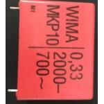 CONDENSADOR MKP 330K-2000V