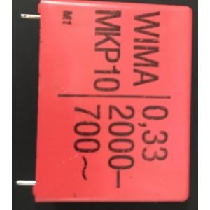 CMKP330K/2000V CONDENSADOR MKP 330K - 2000 V , oferta hasta fin de existencias