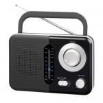 RADIO ANALOGICA AM FM. FUNCIONA A RED Y A PILAS.