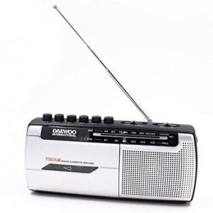 DRP107 Radio Cassette Am / Fm DAEWOO