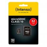 3413480 TARJETA MICROSD INTENSO 32GB HC CLASE10 INCLUYE CANON DIGITAL LPI