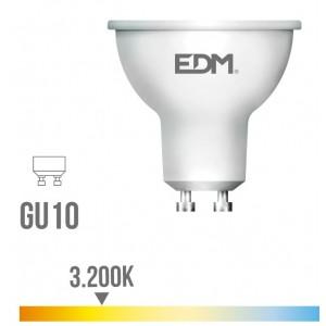 35243 98327 LAMPARA LED 5 W DICROICA GU10 LUZ CALIDA 3200 K