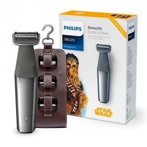 Afeitadora corporal apta para la ducha Star Wars special edition de Philips. Body Groom