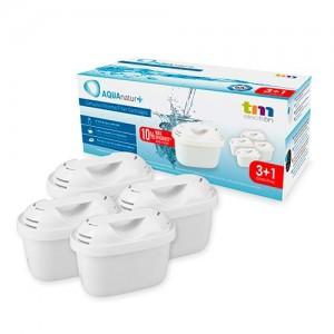 TMFIL004+ Filtros Jarra Purificadora agua compatibles con Maxtra ( 3+1 , 4 filtros )